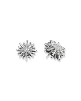 David Yurman Starburst Earrings, Diamonds
