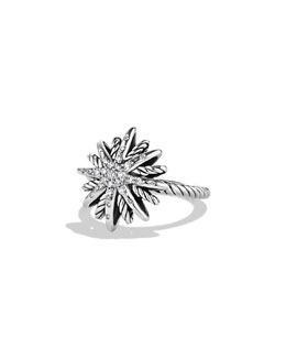 David Yurman Starburst Ring, Diamond, 16mm