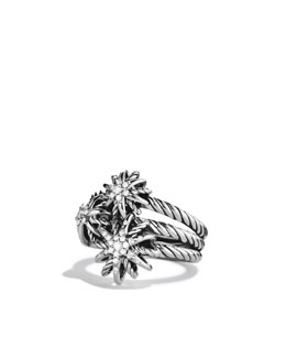 David Yurman Starburst Cluster Ring, Diamonds