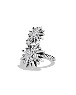 David Yurman Starburst Double Ring, Diamonds