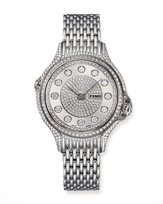 Crazy Carats Precious Pave Diamond Watch