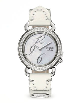Selleria Stainless Steel Diamond-Bezel Watch Head