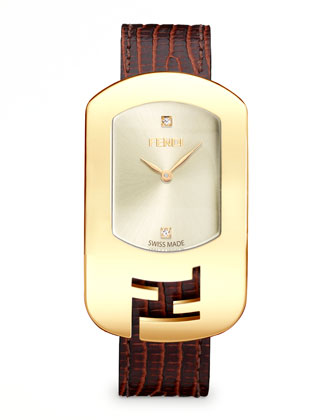 Chameleon Yellow Golden Watch, Champagne