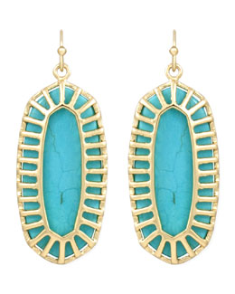 Kendra Scott Dayla Small Drop Earrings, Turquoise