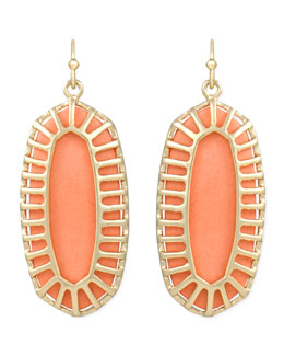 Kendra Scott Dayla Small Drop Earrings, Salmon