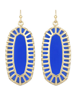 Kendra Scott Dayla Small Drop Earrings, Cobalt