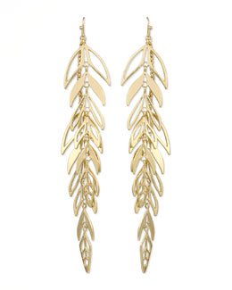 Kendra Scott Zinnia Leaf Drop Earrings