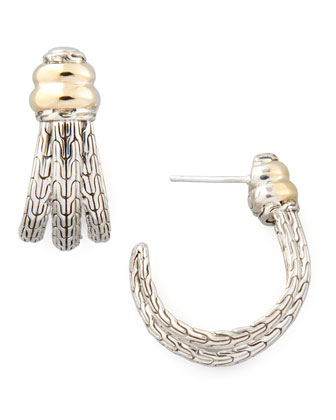 Bedeg Small J Hoop Earrings