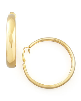 Small Hoop Clip Earrings