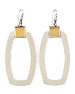 John Hardy Classic Chain Link Long Drop Earrings