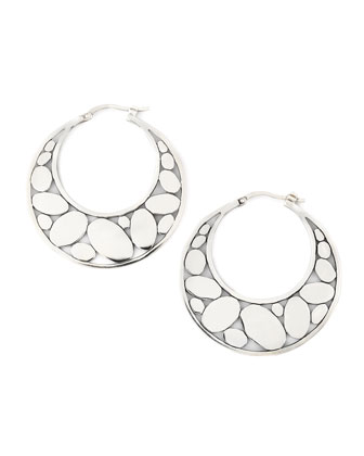 Silver Kali Hoop Earrings