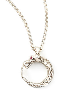 John Hardy Naga Dragon O-Pendant Necklace