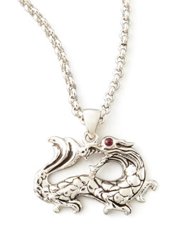 John Hardy Naga Dragon Pendant Necklace