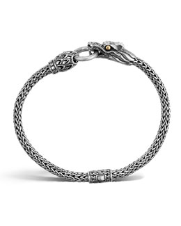 John Hardy Naga Dragon Station Chain Bracelet