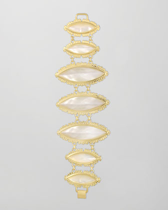 Sarita Bracelet, Mother-of-Pearl