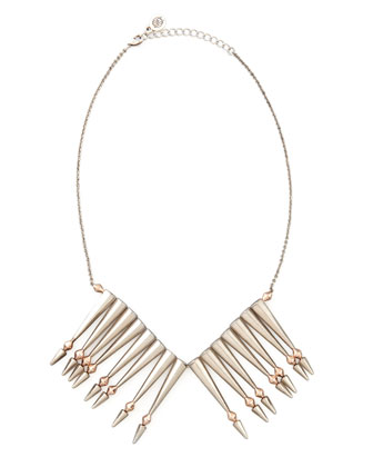 Nomadic Warrior Arrow-Fringe Necklace