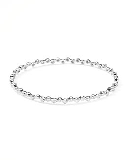 Ippolita Sterling Silver Diamond Bangle