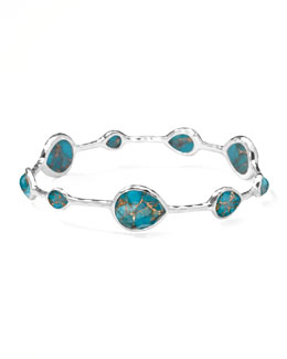 Ippolita Wonderland Turquoise Teardrop Bangle