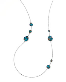 Ippolita Wonderland Gelato Turquoise Station Necklace