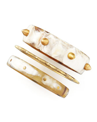 Mwanga Bangles, Set of Three