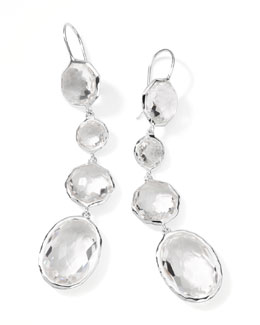 Ippolita Rock Candy Clear Quartz Drop Earrings