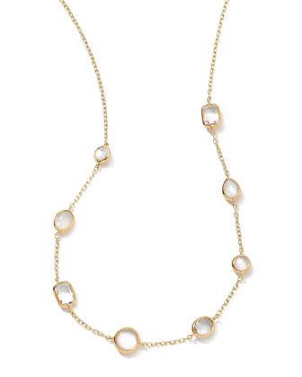 18k Gold Rock Candy Mini Gelato Station Necklace, Flirt