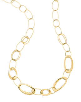 "Ippolita Gold Link Necklace, 18""L"