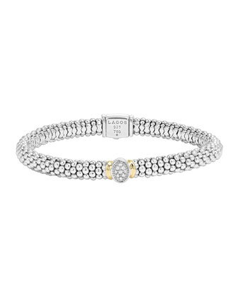 Pave-Diamond Bracelet