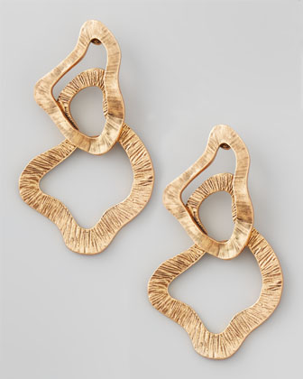 Sculpted Chain Earrings