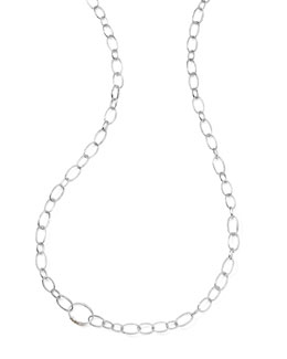 "Ippolita Sterling Silver Smooth Chain Necklace, 48""L"