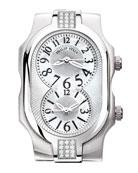 Small Signature Sport Double 24-Diamond Watch Head