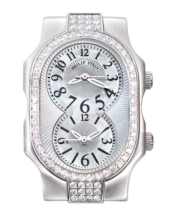 Small Signature Sport Double 72-Diamond Watch Head & 18mm Diamond Bracelet