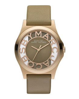 MARC by Marc Jacobs Sunray Dial Watch, Gingersnap