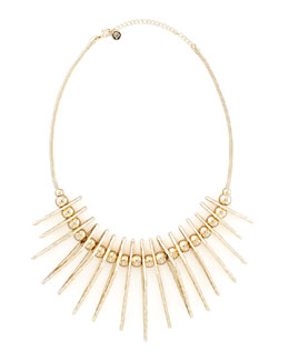 Jules Smith Tribal Pendant Necklace, Gold