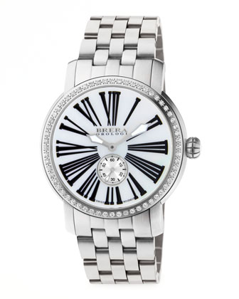 42mm Valentina II Diamond Stainless Steel Watch Head & 22mm Valentina II ...