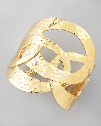Cutout Cuff, Golden