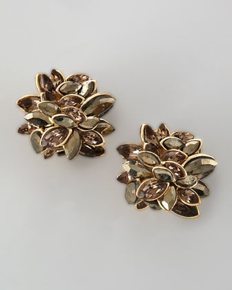 Neo Boho Marquise Clip-On Earrings