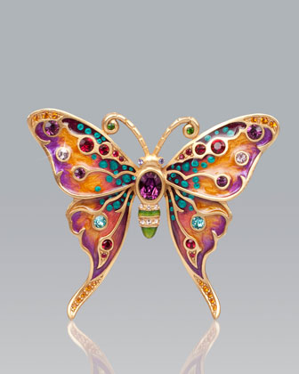 Arlyn Grand Butterfly Pin