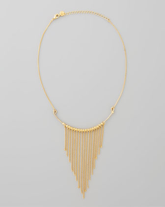Chained to You Fringe Necklace