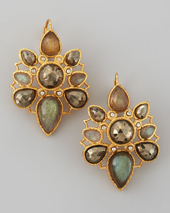 Mosaic Multi-Stone Earrings