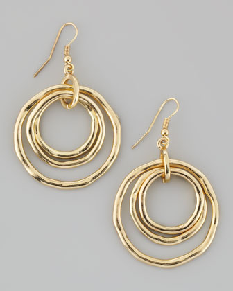 Multi-Hoop Circle Earrings
