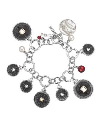 Batu Coin Charm Bracelet