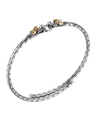 Naga Gold/Silver Dragon Bracelet