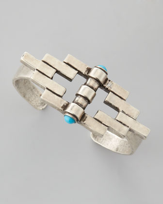 Empire Reflection Cuff, Silver