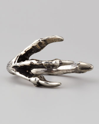 Talon Ring, Silver