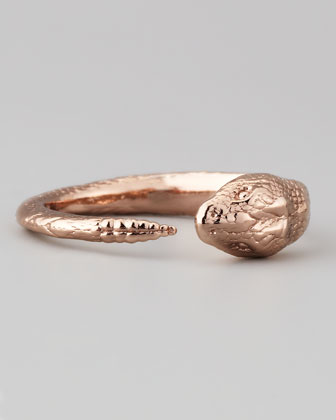 Serpent Ring, Rose Golden