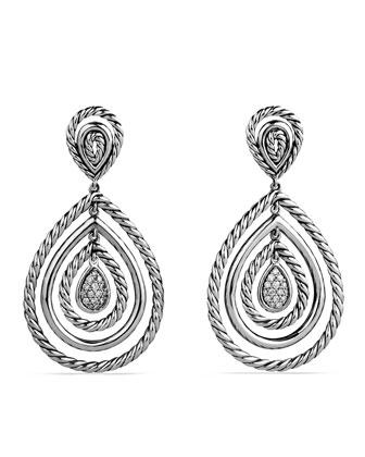 Mobile Drop Earrings with Diamonds