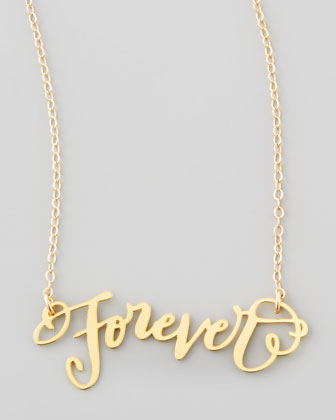 Forever Pendant Necklace