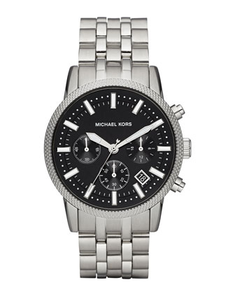 Men's Gray Stainless Steel Scout Chronograph Watch