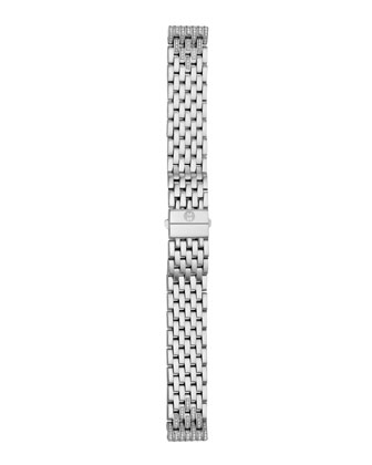 Deco 126-Diamond Chronograph Watch Head & 16mm Tapered-Diamond Watch Bracelet